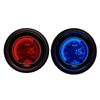 ProSport EVO Series Metric Boost Gauge Blue/Red