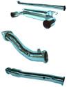 TurboXS Turbo Back Exhaust System w/Cat - EVO X