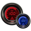 ProSport EVO Series 52mm Metric Oil Pressure Gauge Blue/Red