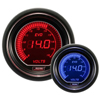 ProSport EVO Series 52mm Electric Volt Gauge Blue/Red