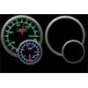 ProSport Premium 52mm Electric Oil Pressure Gauge Green/White