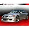 VIS Racing Invader Front Bumper - EVO 8/9