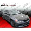 VIS Racing Invader II Carbon Fiber Hood - EVO 8