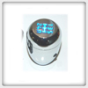 Manual Shift Knob TYP R Chrome Blue LED Light - 5 Speed