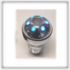 Manual Shift Knob - Chrome LED Light 37B