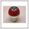 Manual Red Carbon Fiber Shift Knob RC31