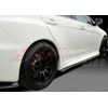 B-Magic XRS-2 Style Carbon Fiber Side Skirts - EVO X 2008-2012 w/Aero Sport Package