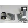 Buschur Racing Rear Side Diff Supports w/ Urethane Inserts - EVO 8/9