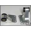 Buschur Racing Rear Side Diff Supports w/ Urethane Inserts - EVO 8/9