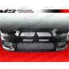 VIS Racing OEM Style Carbon Fiber Front Bumper Cover - EVO X