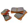 WORKS WRP Orange Rear Brake Pads - EVO 8/9