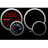 ProSport 52mm Mechanical Boost Gauge Amber/White