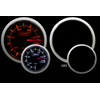 ProSport 52mm Electric Fuel Pressure Gauge Amber/White
