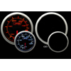 ProSport 52mm Electric Oil Temperature Gauge Amber/White