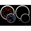 ProSport 60mm Electric Water Temperature Gauge Amber/White