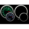 ProSport 52mm Electric EGT Gauge Green/White