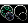 ProSport 52mm Electric Fuel Pressure Gauge Green/White