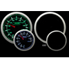 ProSport 52mm Volt Gauge Green/White