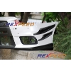 Rexpeed V-Style Carbon Fiber Canards - EVO X