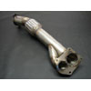 "Ulitmate Racing 3"" Long Downpipe - Lancer Ralliart 2009+"