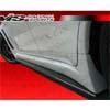 VIS Racing Rally Style Carbon Fiber Skirt Diffusers - EVO X