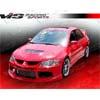 VIS Racing Striker X Front Bumper - EVO 8/9