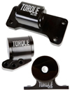 Torque Solution Billet Aluminum 3 Piece Engine Mount Kit - EVO 8/9 5 Speed