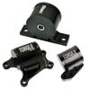 Torque Solution Billet Aluminum 3 Piece Engine Mount Kit - EVO 8/9 6 Speed