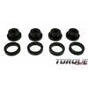 Torque Solution Drive Shaft Carrier Bearing Support Bushings - EVO 8/9/X