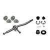 Torque Solution Short Shifter, Base, Shifter Cable and Gate Selector Bushing Combo - EVO X 2010+