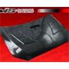 VIS Racing Terminator Carbon Fiber Hood - Lancer GTS, ES, & DE