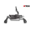 ARK Performance DT-S Exhaust System Polished Tips - EVO X