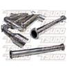 Tsudo Test pipe back Exhaust System - EVO X