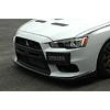 Voltex Carbon Fiber Front Lip Cover - EVO X
