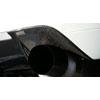 Voltex Carbon Fiber Exhaust Heat Shield - EVO 9 w/JDM Rear Bumper