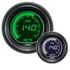 ProSport EVO Series 52mm Electric Volt Gauge Green/White
