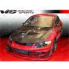 VIS Racing VRS Carbon Fiber Hood - EVO 8