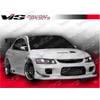 VIS Racing Wings Front Bumper - EVO 8/9