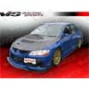 VIS Racing Z Speed Carbon Fiber Front Lip - EVO 8