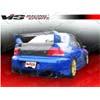 VIS Racing Z Speed Carbon Fiber Rear Lip - EVO 8