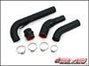 AMS Mitsubishi Lancer Ralliart Upper Intercooler Pipe / Hot Pipe *Black*