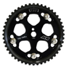 AEM 5 Bolt Cam Gears Set Black - Lancer EVO