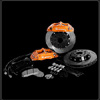 KSport ProComp Rear Big Brake System - EVO 8/9