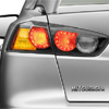 Mitsubishi OEM Black Out Taillights Set - EVO X / Ralliart