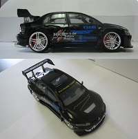 Limited Edition 2003 Lancer EVO 8 Mini Black Car **ONLY 1 LEFT AVAILABLE!**