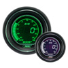 ProSport EVO Series 52mm Electric Boost Gauge Green/White