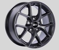 BBS SR 16x7 5x100 ET36 Satin Grey Wheels -70mm PFS/Clip Required