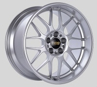 BBS RG-R 19x8.5 5x114.3 ET18 Sport Silver Polished Lip Wheels -82mm PFS/Clip Required