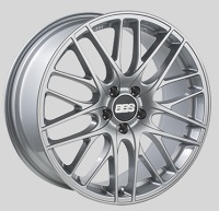 BBS CS 19x8.5 5x114.3 ET42 Sport Silver Wheels -82mm PFS/Clip Required