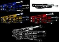 Blackworks Billet Adjustable Rear Control Arm Set: Mitsubishi EVO 8/9